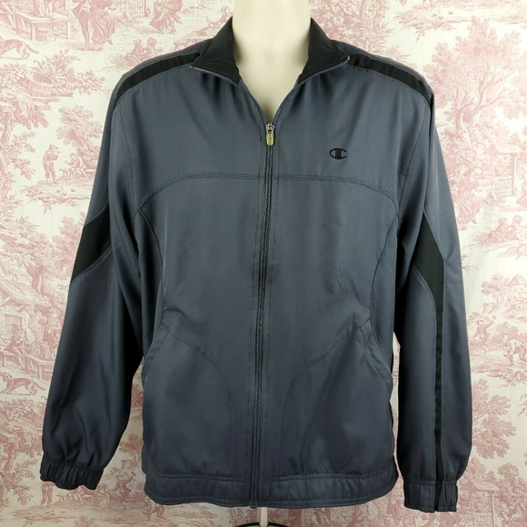 Champion Other - Champion Double Dry Athletic Jacket Size M Blue